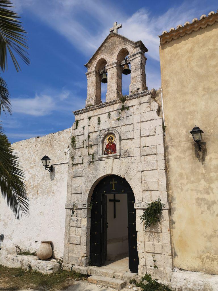 Monastery of St. George Kremnon in Zakynthos