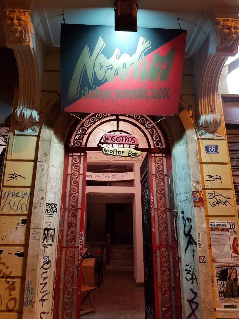 Alternative bar Nosotros in Exarchion, Athens