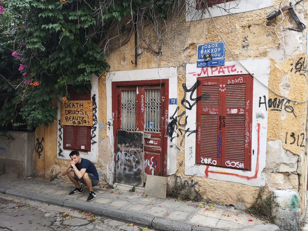 Urban decay in Athens shocking for a first-time visitor to Greece