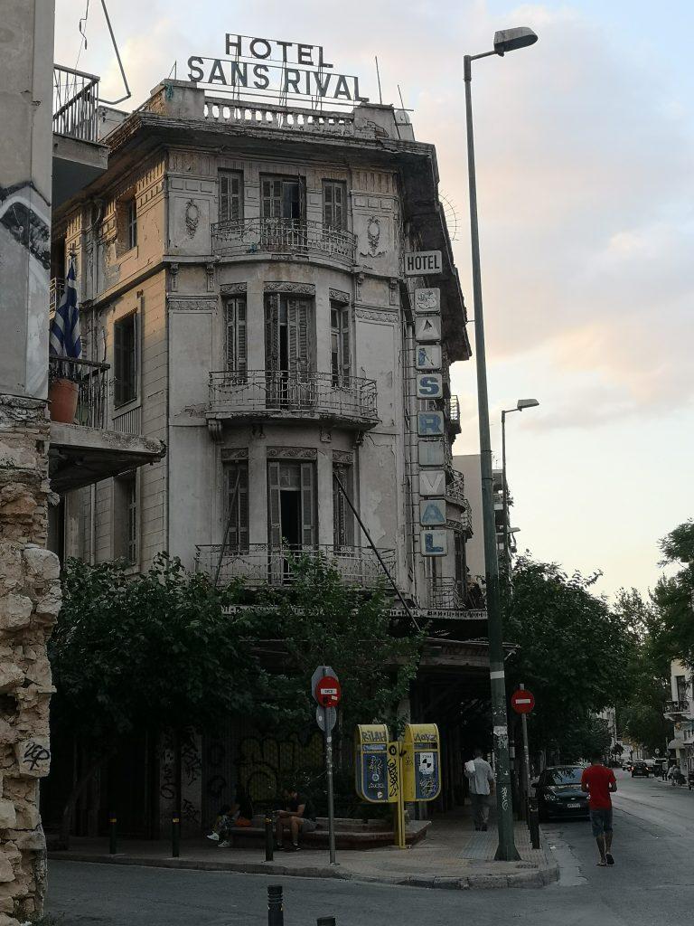 Hotel Sans Rival, Athens.