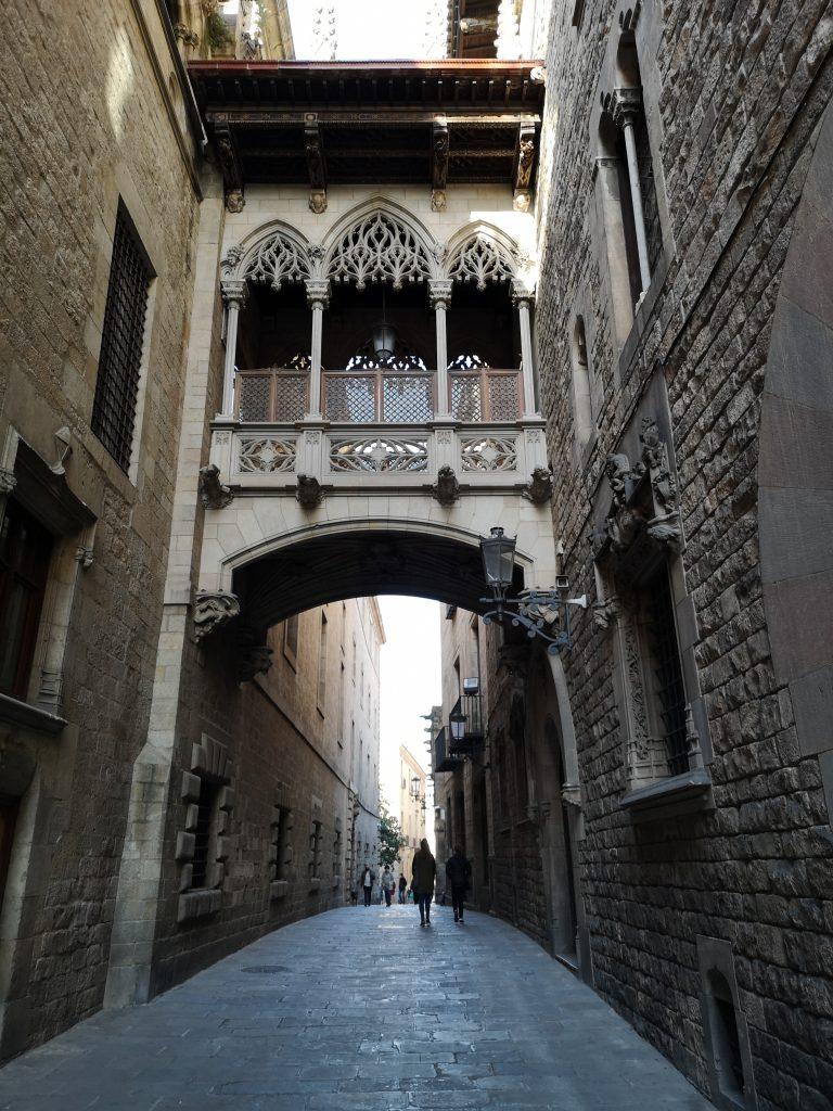 Portal del Bisbe, Gothic Quarter,2020